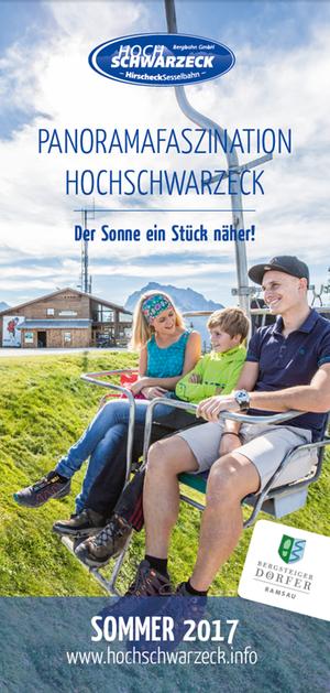 Cover Flyer Sommer 2017