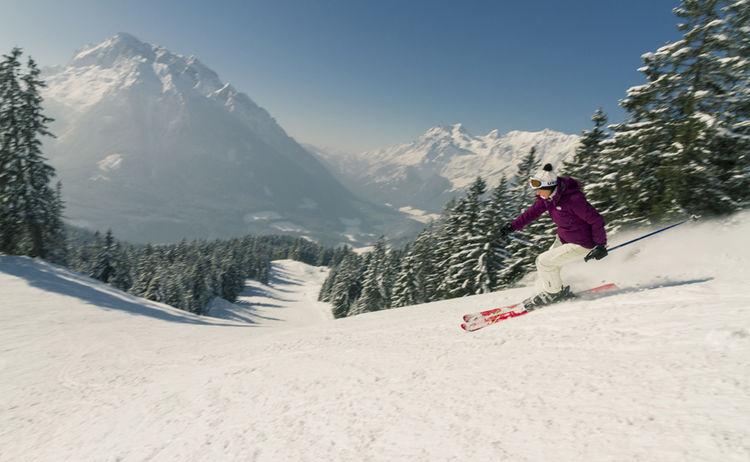 Hochschwarzeck Skifahren 17